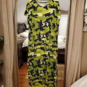 Lularoe~Maria Dress~2XL